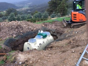 Septic Treatment Plant Installation