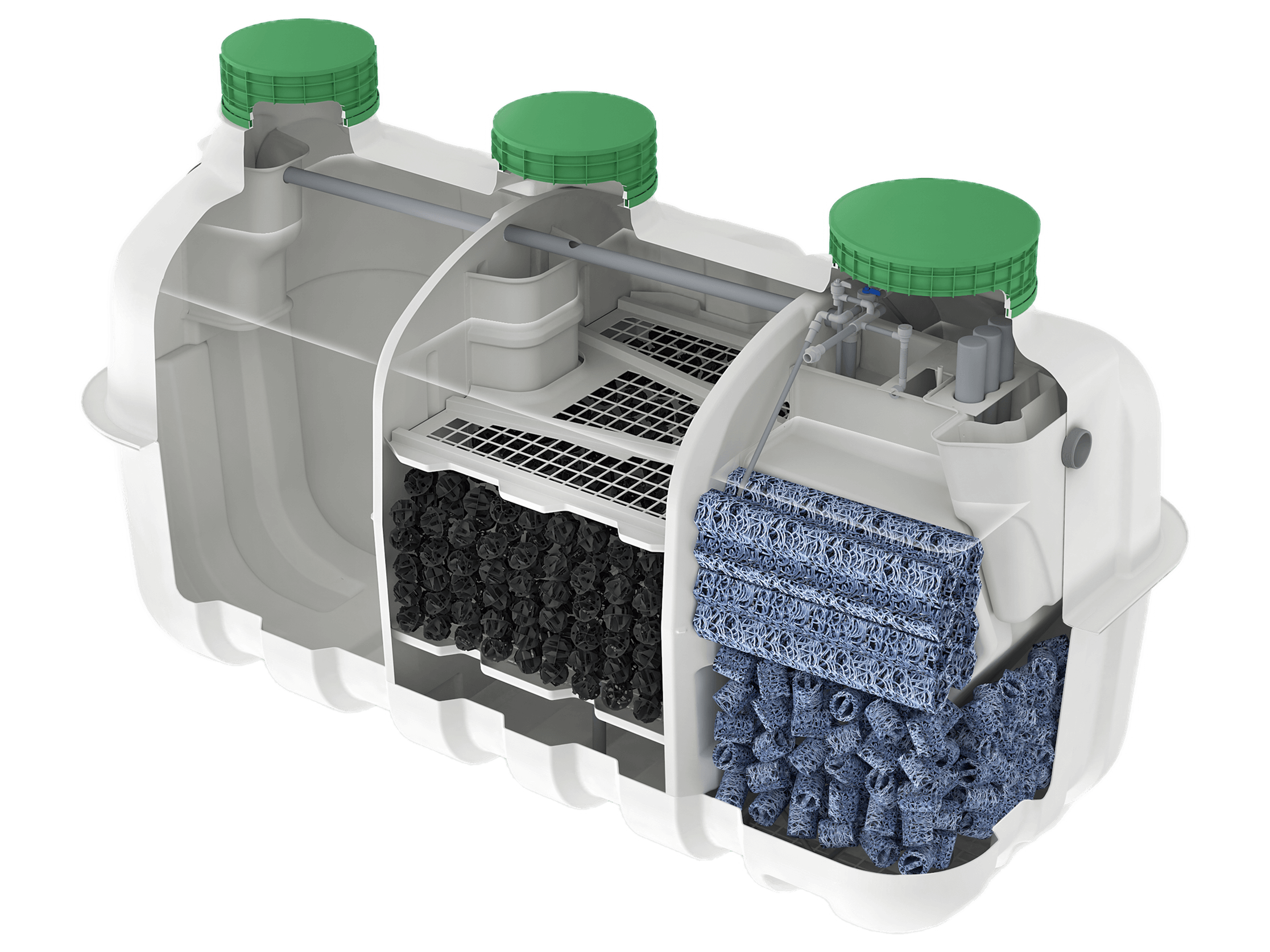 CE-1500EX - FujiClean | Onsite waste water treatment system